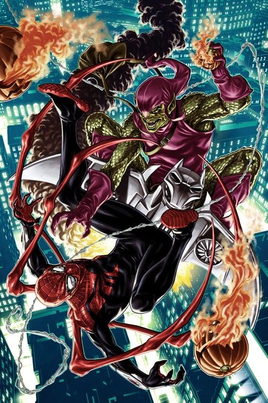 Superior Spider-Man 27.NOW Brooks Variant