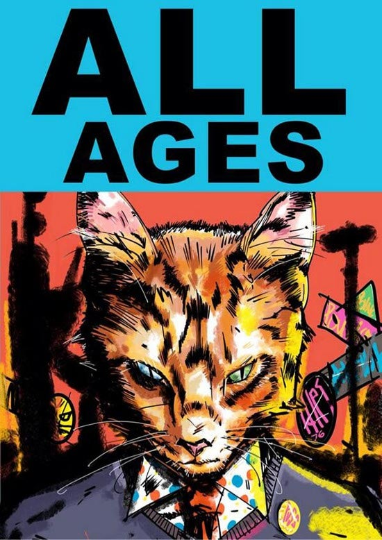 Gerard Way Teases His New Cat Comic Quot All Ages Quot On Twitter