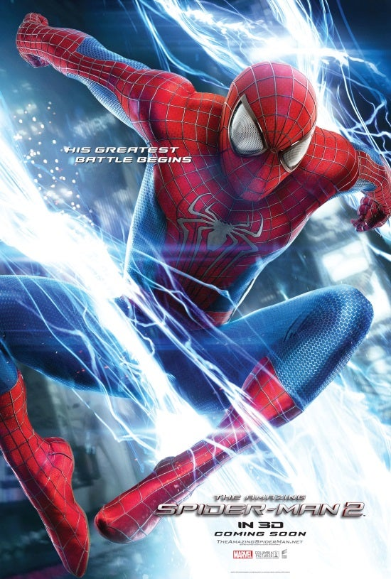 amazing spider man 2 two new international posters