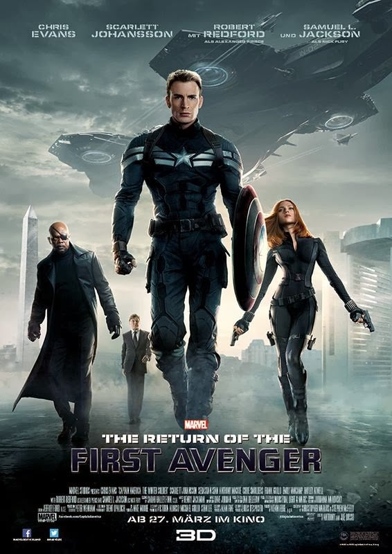 More Captain America The Winter Soldier Posters Without