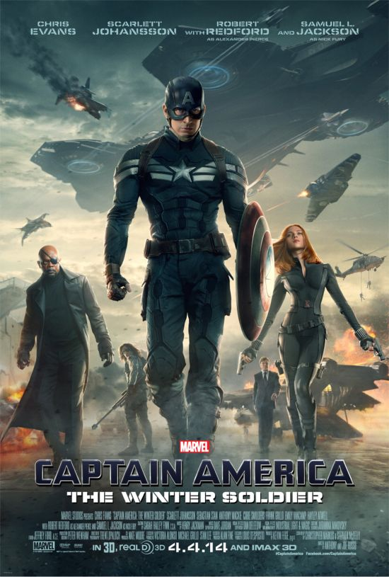 Captain America The Winter Soldier Payoff Poster