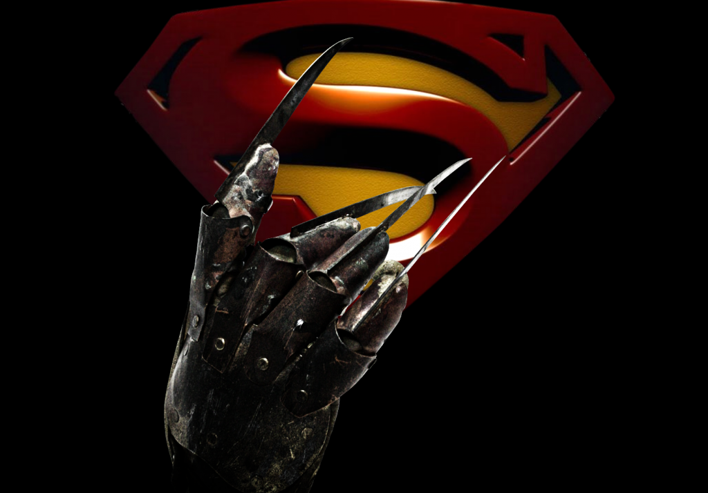 Cougar Town Suggests Superman vs. Freddy Krueger...And The Internet Already Has It
