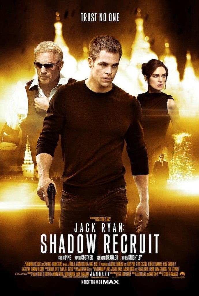 Jack Ryan: Shadow Recruit Gets Recognized By the AARP as a