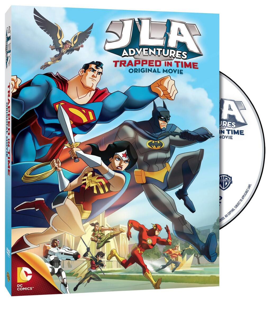 JLA Adventures : Trapped In Time VOSTFR