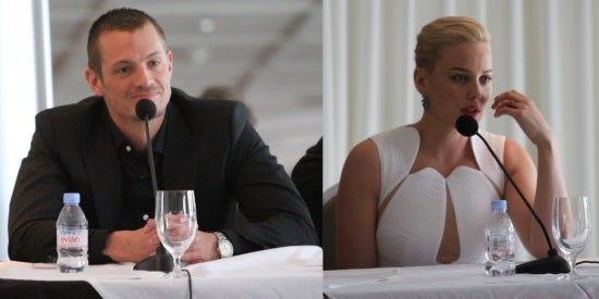 Stars Joel Kinnaman And Abbie Cornish Talk About Bringing RoboCop To Modern Audiences