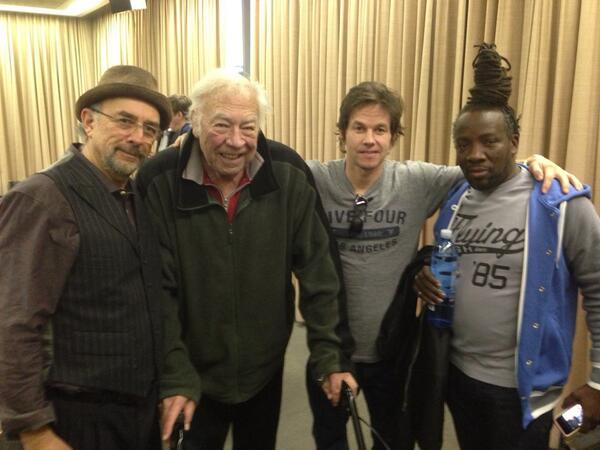 Man of Steel's Richard Schiff Making A Movie With Mark Wahlberg, George Kennedy