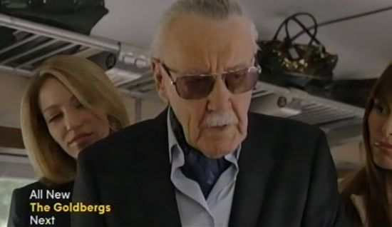 Stan Lee cameo on Agents of SHIELD