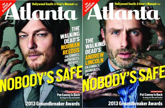 The Walking Dead Magazine Covers