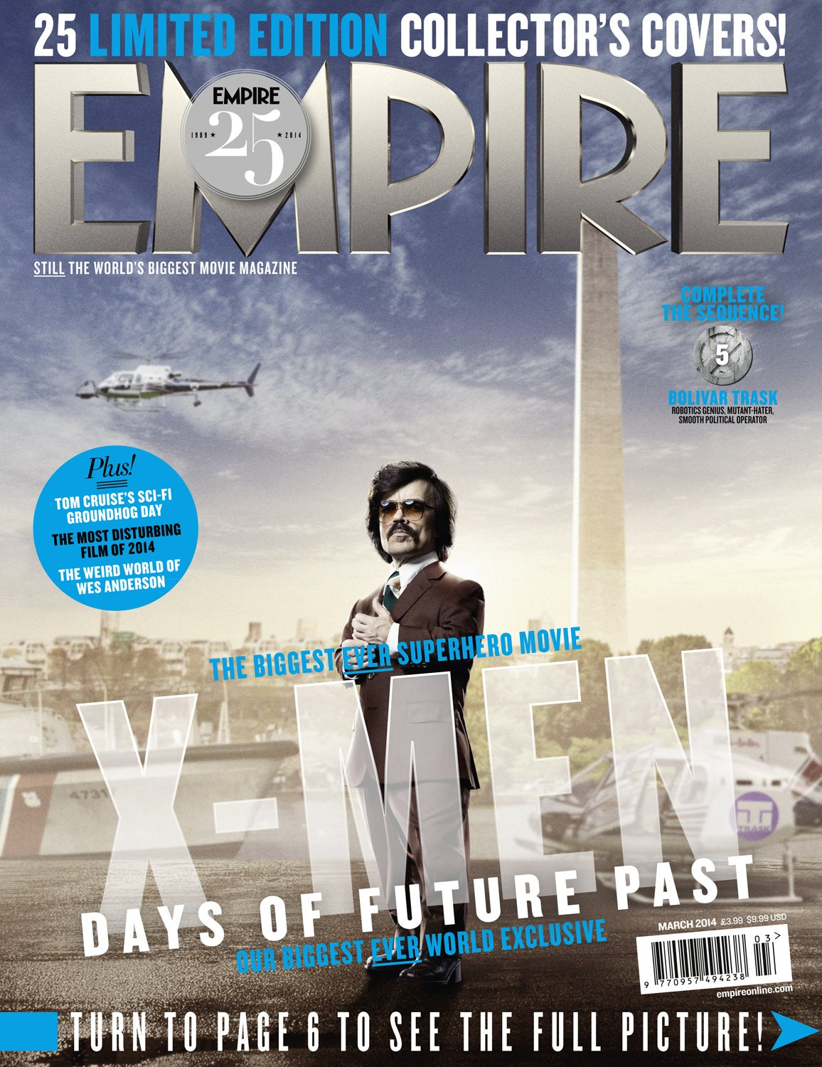 X-Men: Days of Future Past To Be Featured on 25 Empire ...