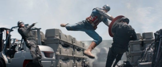 Captain America vs. The Winter Soldier