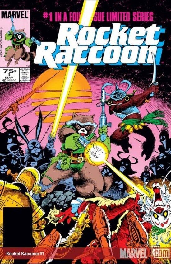 Rocket-Raccoon-Comic