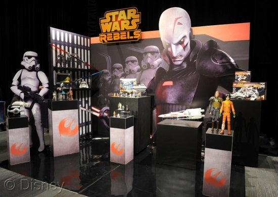 Star Wars Rebels At Toy Fair