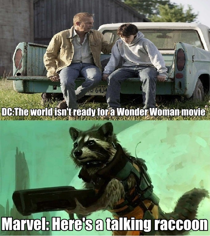 Your Wonder Woman Rocket Raccoon Post Is Still Missing The Point