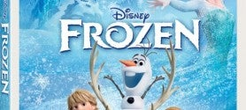 frozen blu ray