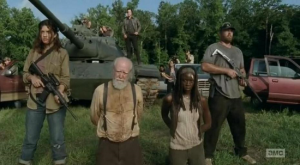 hershel-michonne-hostages-tara-governor-thugs