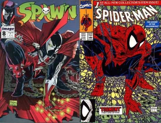 Spawn & Spider-Man Crossover