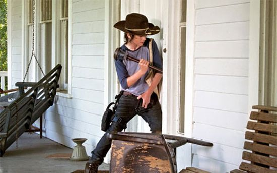 The Walking Dead After Carl Door