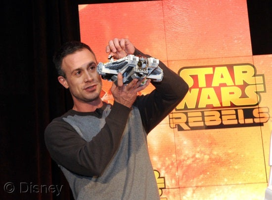 Freddie Prinze, Jr. at Toy Fair