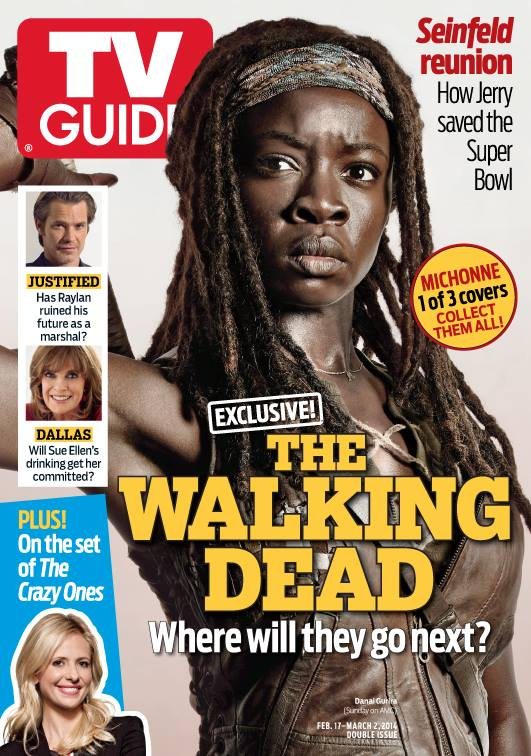 TV Guide's Michonne Cover