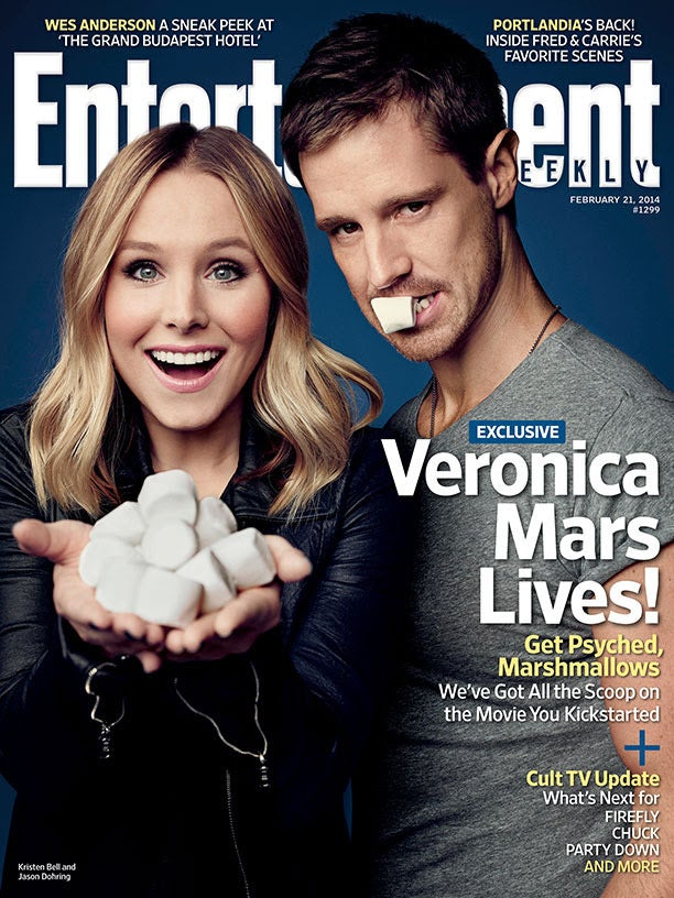Veronica Mars Featured On Entertainment Weekly's Valentine's Day Cover, New Clip Debuts