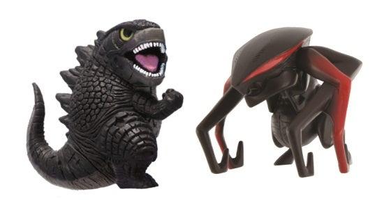Bandai Godzilla 2014 Movie Figure 2-Packs
