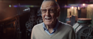 amazing spiderman 2 postal ad stan lee