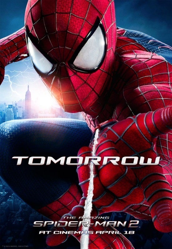 amazing spiderman 2 new poster before the final trailer