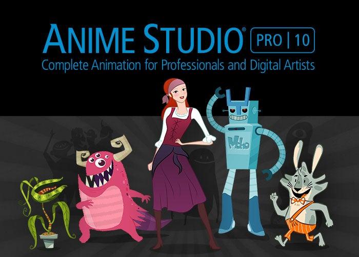 عملاق تصميم الشخصيات الكرثونية [ Anime Studio Pro ]