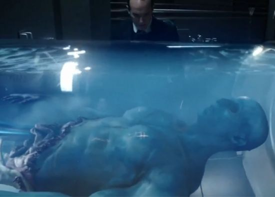 Blue Alien Agents of SHIELD