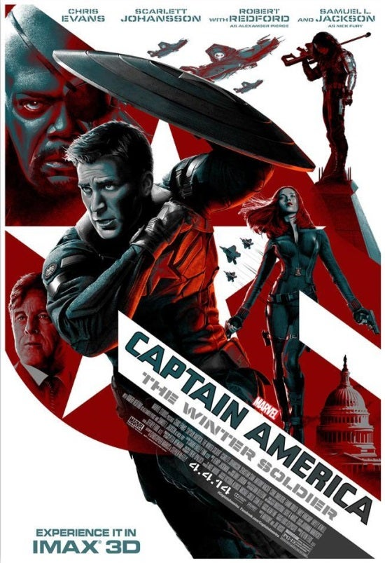 Captain America: The Winter Soldier IMAX Poster