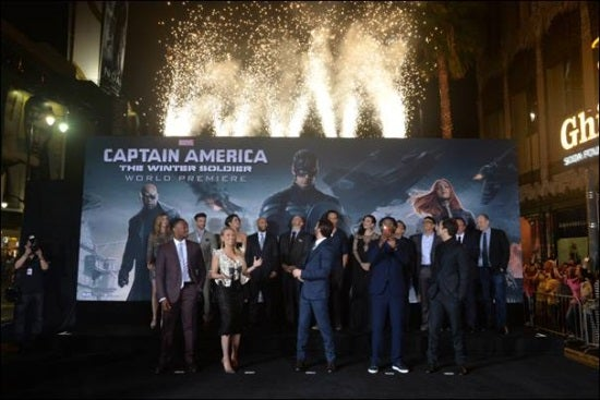 Captain America: The Winter Soldier Premiere