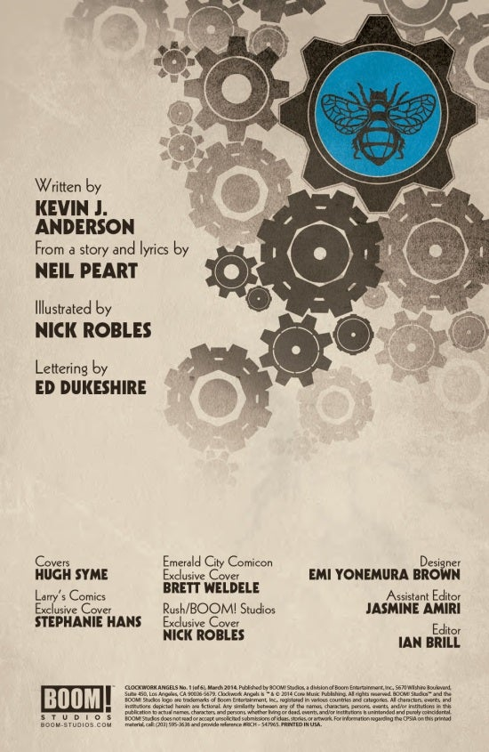 Clockwork Angels #1