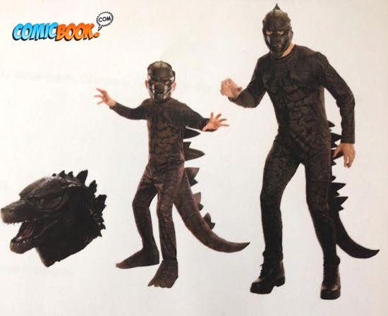 Gamera Flying Godzilla Movie Costume...