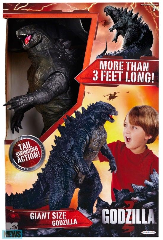 "Jakks Pacific has revealed (via MTV ) their new ""Giant"" Godzilla ..."
