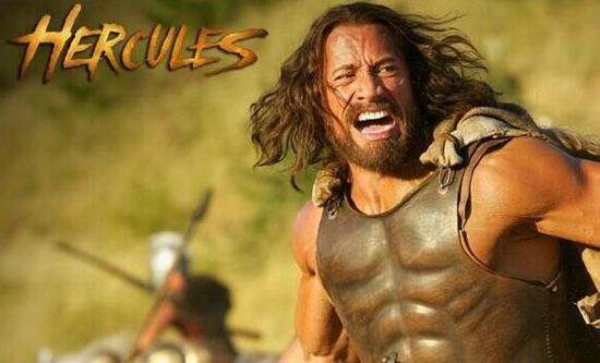 Hercules tv spot debuts during mtv movie awards for La roca film