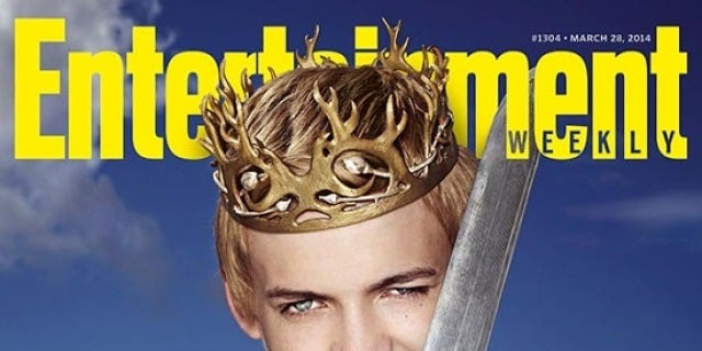 Game of thrones king joffrey covers entertainment weekly