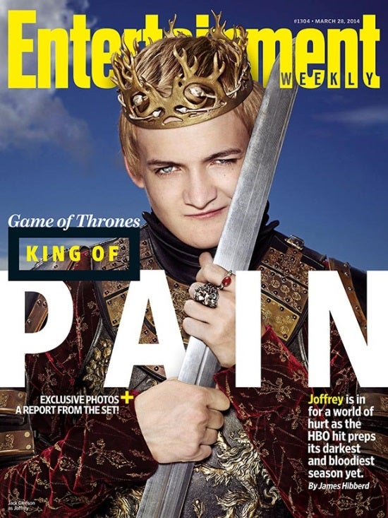 Game of Thrones' King Joffrey Covers Entertainment Weekly