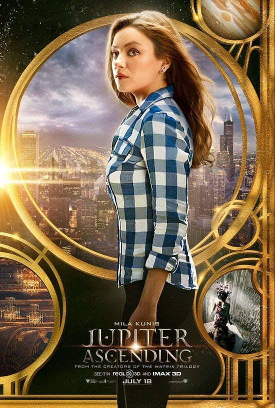 Jupiter Ascending: New Posters Featuring Channing Tatum and Mila Kunis
