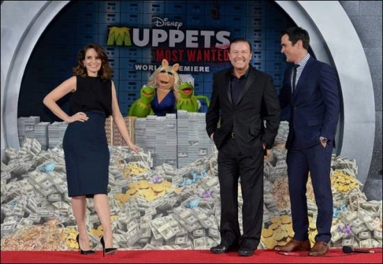 Muppets Most Wanted World Premiere Photos