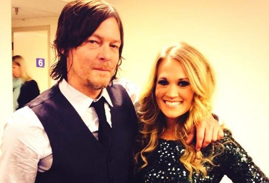 Norman Reedus Carrie Underwood