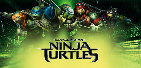 Teenage Mutant Ninja turtles promo