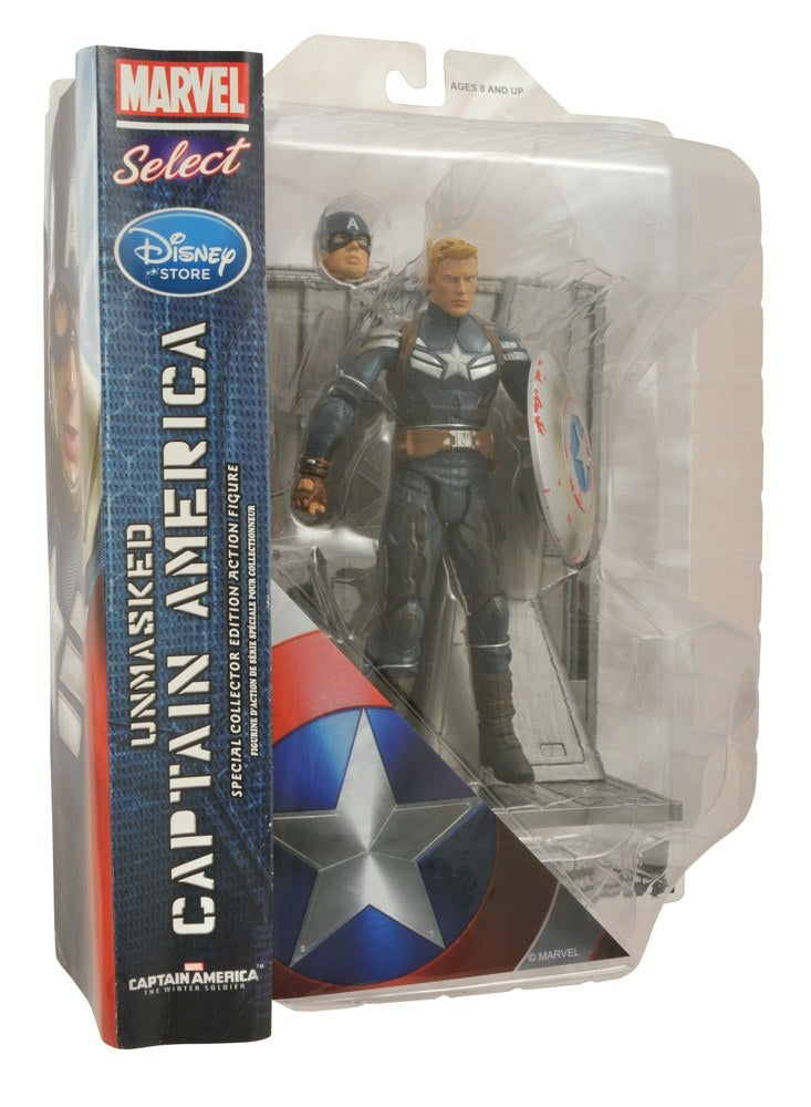 Captain America Disney Store Exclusive Figures Based On