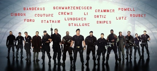 The Expendables 3 Role Call Trailer Released