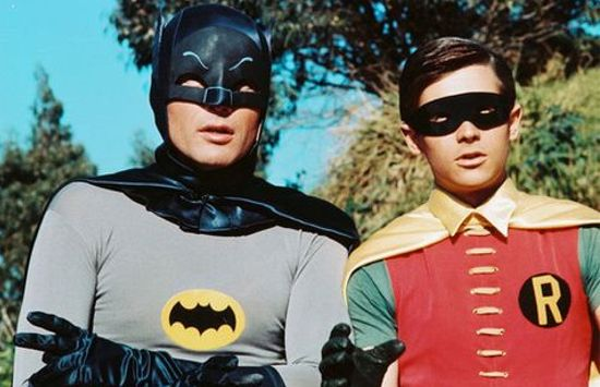 Batman TV series Adam West & Burt Ward