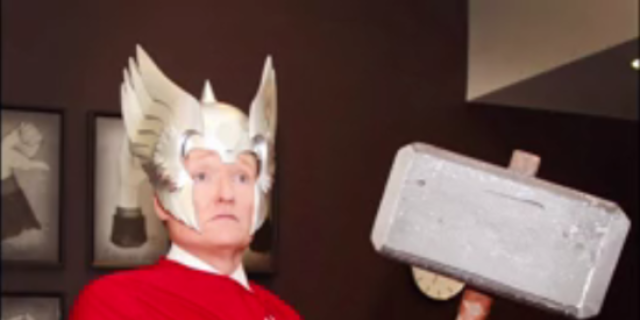 conan obrien as thor