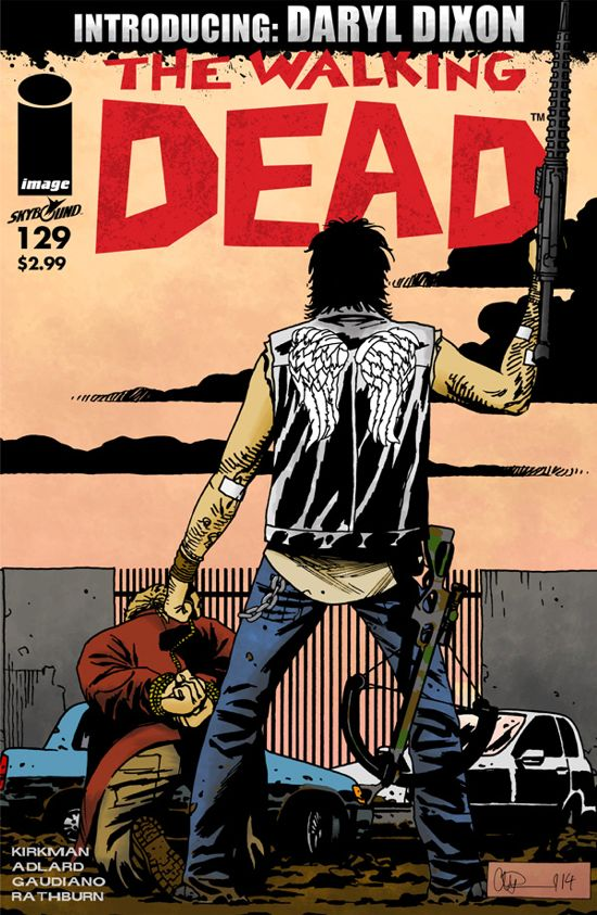 Daryl Dixon Walking Dead comic book