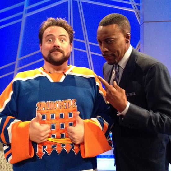 Kevin Smith & Arsenio Hall