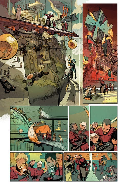 Rick Ball Ford >> Image Comics's Low By Remender and Tochinni Coming July 30