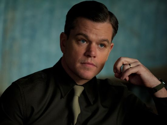 Matt Damon as Aquaman