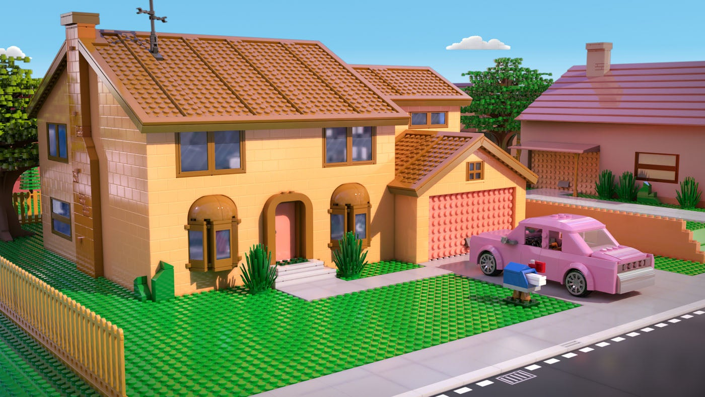 The Simpsons Quot Lego Episode Quot Brick Like Me Images Released
